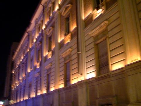 Illuminazione delle facciate  Izmo